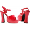 Lea Platform Shoes Red